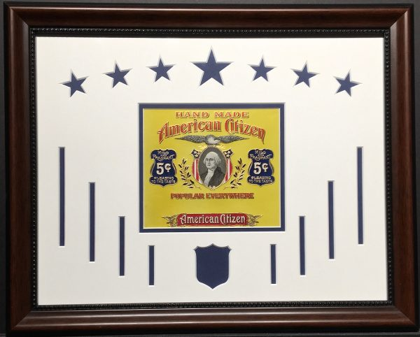 American Citizen Cigar Label.