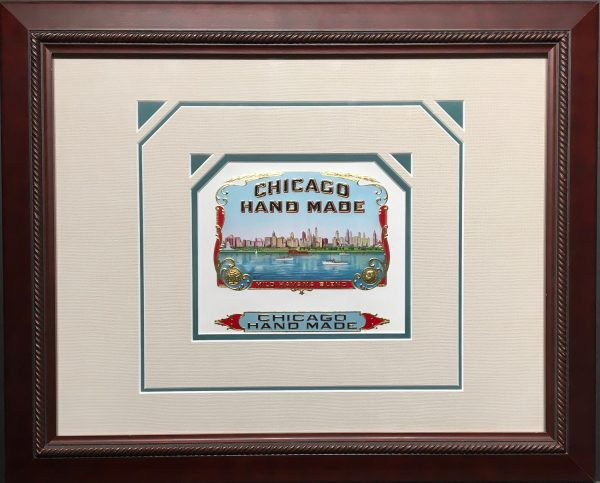 Chicago Hand Made Cigar Label.