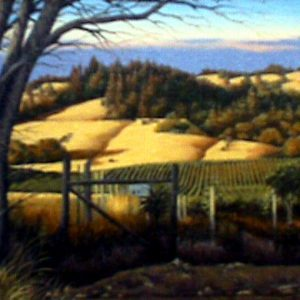 Navarro Valley by artist Jim Buckels