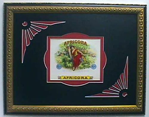 Africora - Cigar Label Art