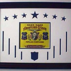 American Citizen - Cigar Label Art