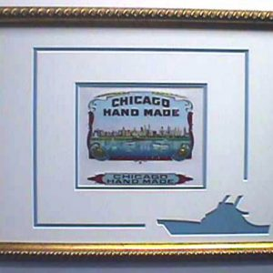 Chicago Hand Made - Cigar Label Art