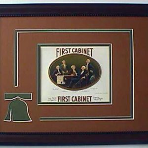 First Cabinet - Cigar Label Art