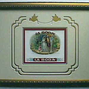 La Boda - Cigar Label Art