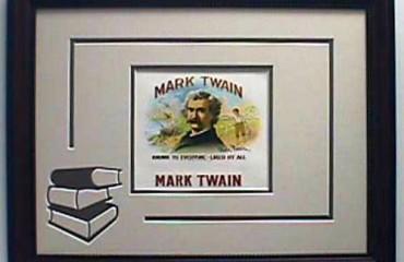 Mark Twain – Cigar Label Art