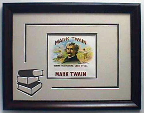Mark Twain - Cigar Label Art