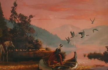 Return of the Hunter – Hermon Adams – SOLD