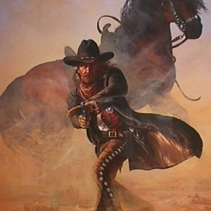 Texas Ranger by artist Herman Adams