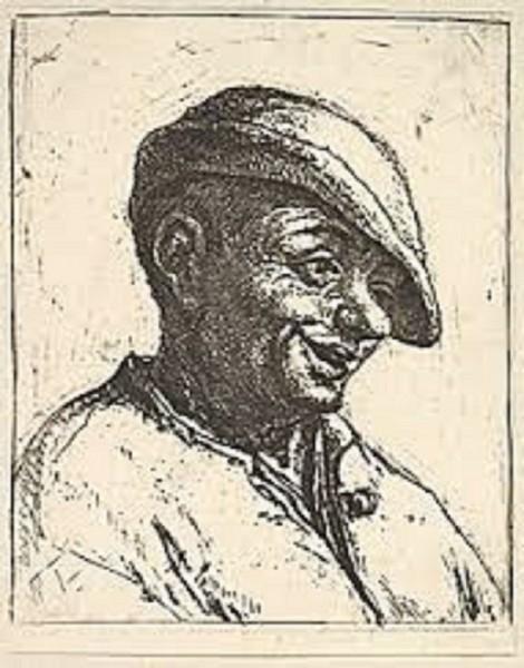 Laughing Peasant by Adriaen Van Ostade