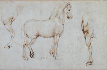 076 recto – by Leonardo da Vinci  (SOLD)
