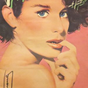 interview magazine signed by Andy Warhol with Deborah Winger 1980