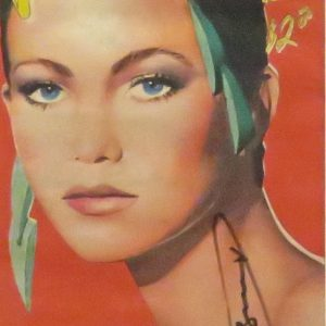 interview magazine signed by andy warhol featuring diane lane