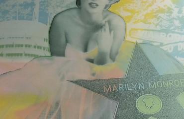 Marilyn – Hollywood Star by Steve Kaufman 2008