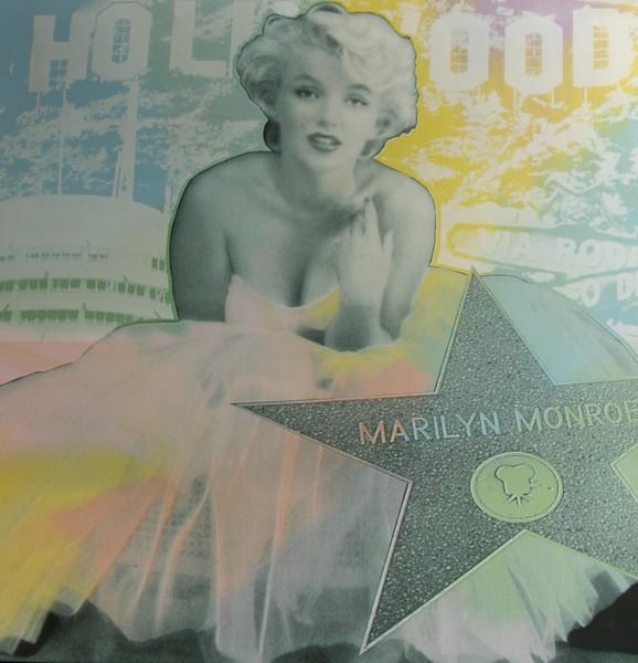 Marilyn Monroe - Hollywood Star bu Steve Kaufman - 2008