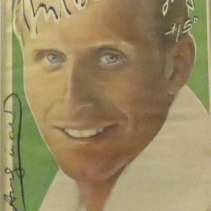 Interview Magazine signed by Andy Warhol - Vitas Gerulaitis 1979