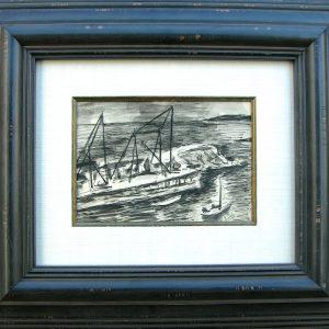original Raoul Dufy watercolor