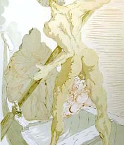 Charon (Inferno - canto 3) by Salvador Dali