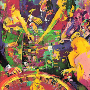 tee shot jack nicklaus by leroy neiman art encounter. Black Bedroom Furniture Sets. Home Design Ideas