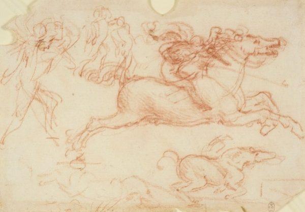 121 recto - by Leonardo da Vinci - Art encounter