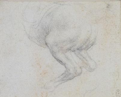 115 recto - by Leonardo da Vinci - Art encounter - Queen's Collection