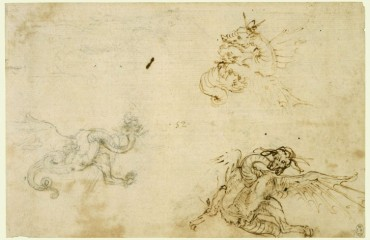 078 recto – by Leonardo da Vinci