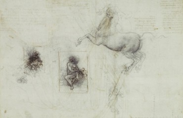 118 recto – by Leonardo da Vinci