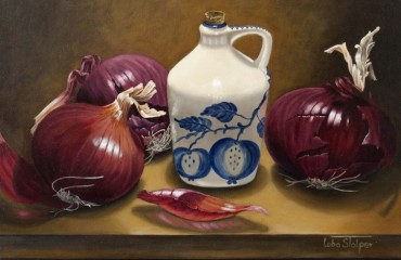Onion Harvest – by Luba Stolper