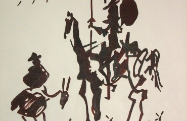 Don Quixote – by Pablo Picasso  (SOLD)