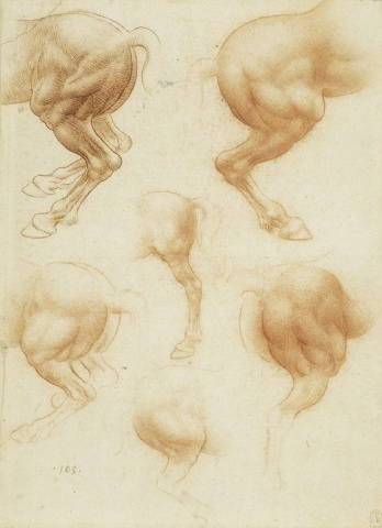 129 recto – by Leonardo da Vinci - Art encounter