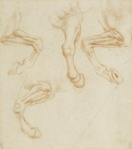 104 recto - by Leonardo da Vinci - Art encounter