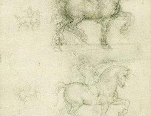 137 Recto – by Leonardo da Vinci- SOLD