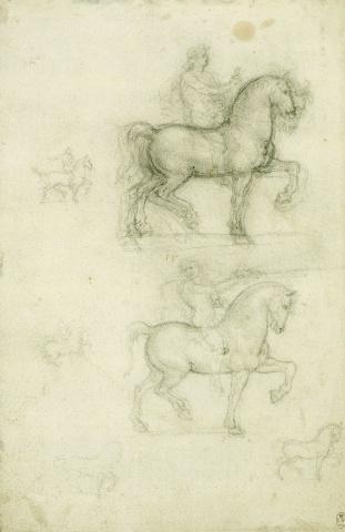 137 Recto - by Leonardo da Vinci