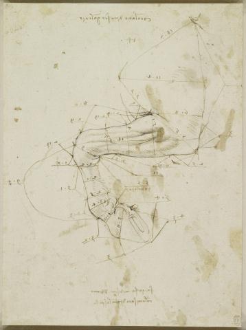 94 Recto - by Leonardo da Vinci