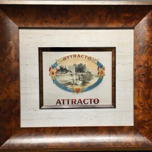 Attracto Cigar Label.