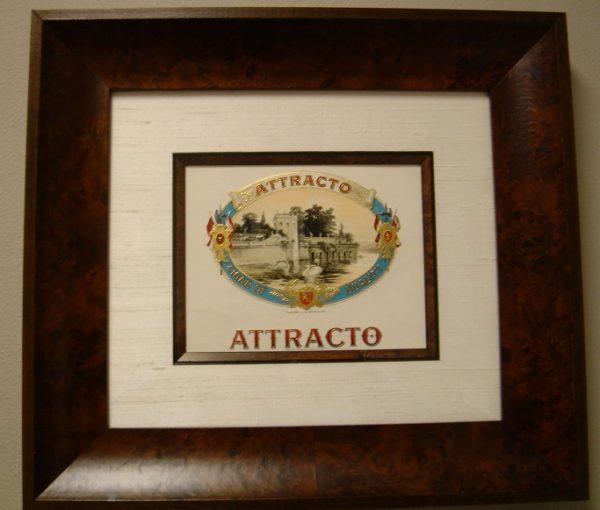 Attracto - Cigar Label Art