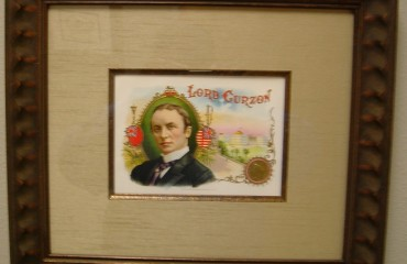 Lord Curzon – Cigar Label Art