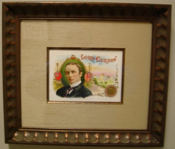 Lord Curzon - Cigar Label Art