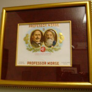 Professor Morse - Cigar Label Art