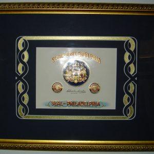 Seal of Philadelphia - Cigar Label Art - Art encounter