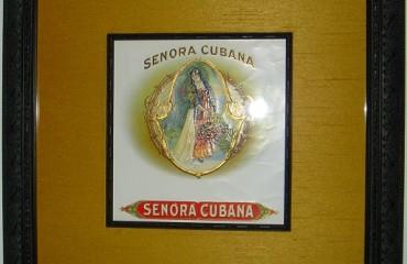 Senora Cubana – Cigar Label Art