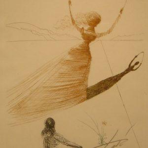 Alice in Wonderland by Salvadore Dali - Art encounter
