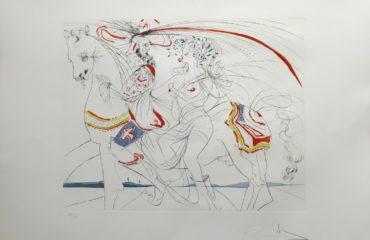 Diane de Poitiers by Salvador Dali