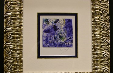 Original Signature on Gallery Card by Marc Chagall – (SOLD)