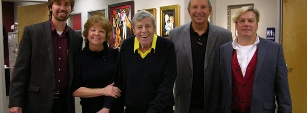 """The King of Comedy""…  Jerry Lewis at Art encounter"