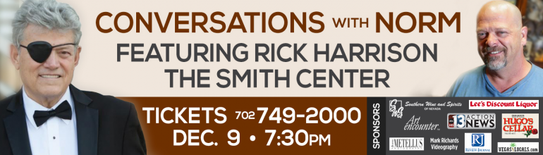 "Art encounter Sponsor's ""Conversations With Norm"" benefiting The Smith Center's Education And Outreach Programs 12/9/15"