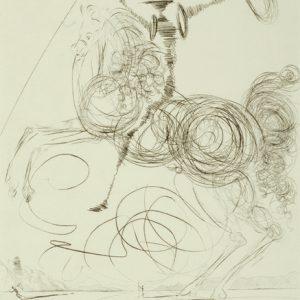 Don Quichotte by Salvador Dali