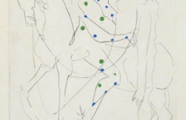 Le Cheval de Picasso (Picasso's Horse) by Salvador Dali