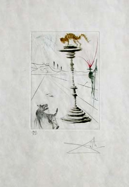 The Taming of the Shrew by Salvador Dali