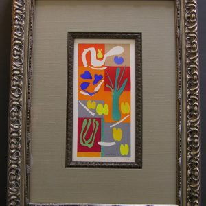 Original Matisse Signature Card