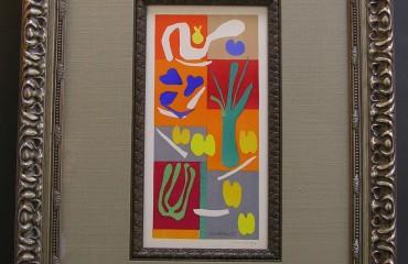 Original Signature by Henri Matisse  (SOLD)